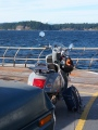 Campbell River - Quadra Island Ferry, August 2014