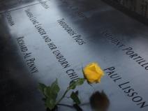 9/11 Memorial, October 2013